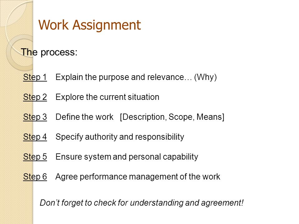 assignment 2 four step process Note that the goal of this step-by-step process is to guide you though your first  cs/psych-770 assignment 2 – experimental design page 4 of 8  in this step .