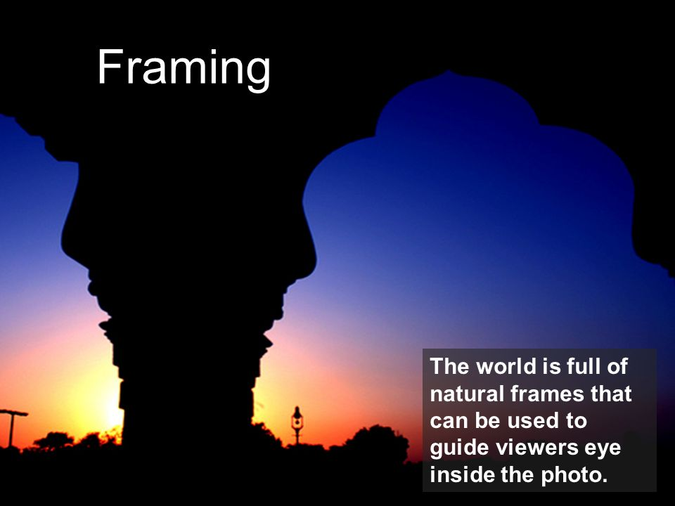 Framing Example of Framing