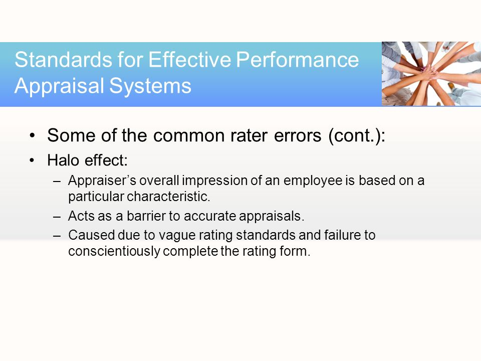 the effectiveness of performance appraisal system Performance appraisal program helps management target top employee proper employee management and performance appraisal are essential components of an effective hr system effective performance management is provided through the implementation of a comprehensive system with.