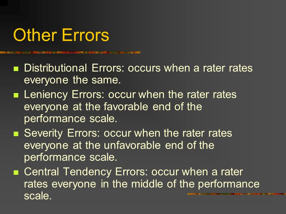 Chapter 4 Performance Appraisal - ppt video online download