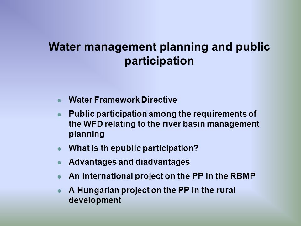 public participation planning At almost every step in the development of the bureau of land management's land  the current land-use planning process begins with a formal public scoping .