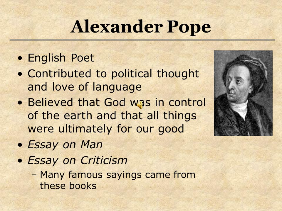 literature philosophy und musik ppt video online 23 alexander pope english poet