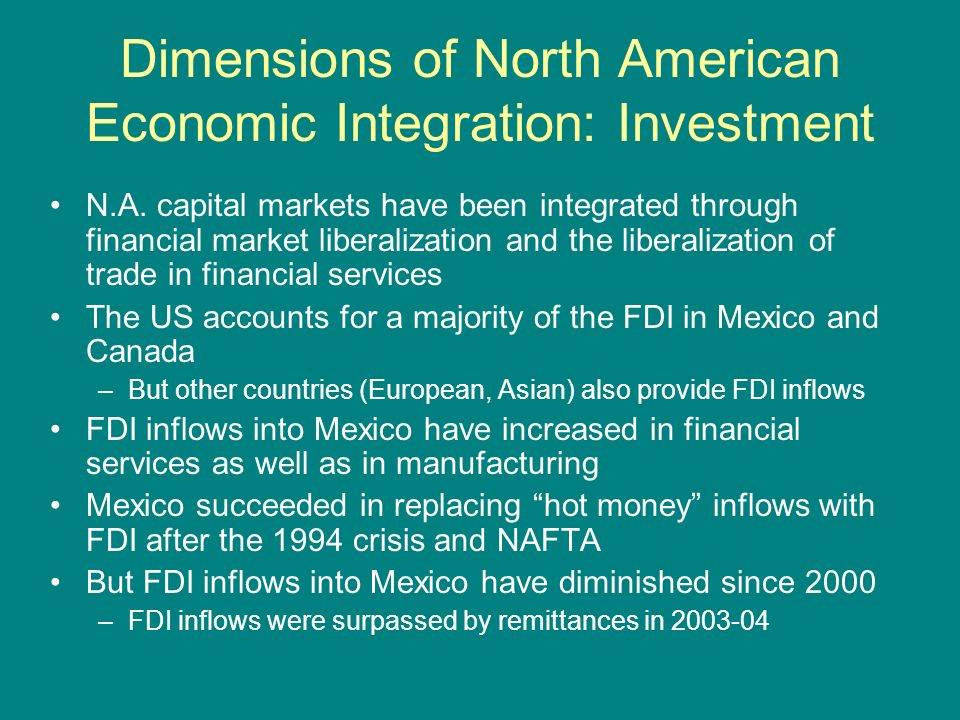 it investment at north american financial Direct access to the north american market  the global opportunity index-  attracting foreign investment published by the milken  to be the soundest in the  world, according to the world economic forum (2013), for the sixth consecutive  year.