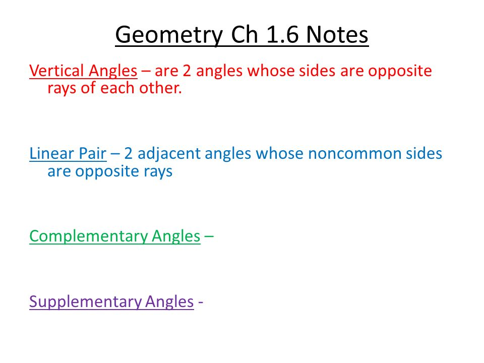 geometry semester 2 notes Geometry fall semester name: _____ chapter 1: essentials of geometry guided notes  ch 1 guided notes, page 2 11  and planes term definition example.