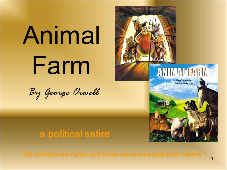 the political criticisms in george orwells animal farm Orwell wrote animal farm as a critique of communism, but he himself was a socialist who recognized socialism's inherent problems.