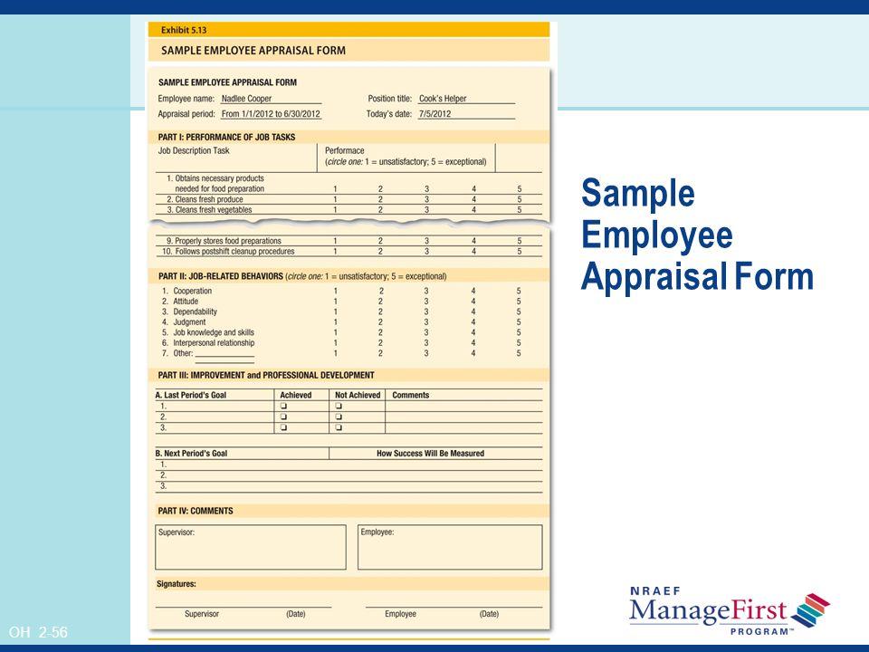 56 Sample Employee Appraisal Form