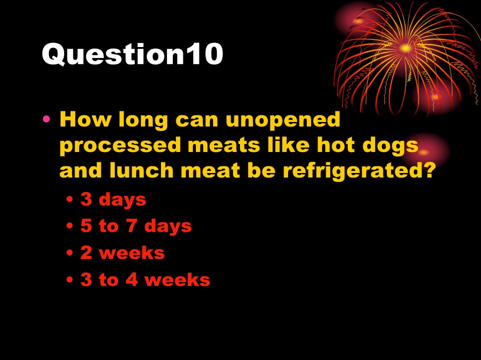 How Long Is Lunch Meat Safe At Room Temperature