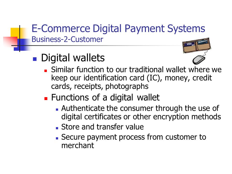 How Electronic Payment Works