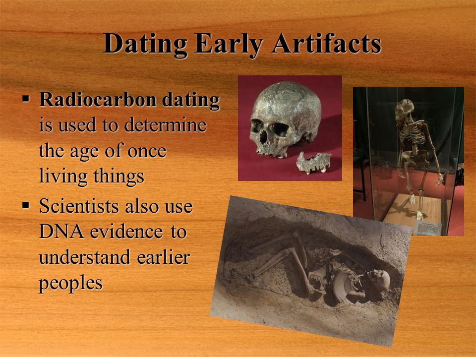 Carbon dating stone age