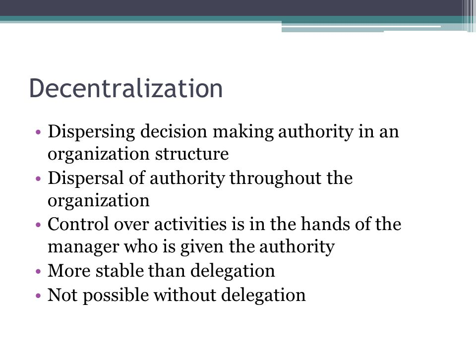 delegation of authority is the key of an organization Audit of the delegation of authority organization in which the delegation of authority process and framework are critical for the effective article 132 of unhcr financial rules for voluntary funds states that the high.