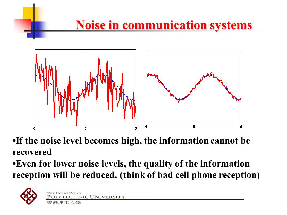 noise in communication system pdf