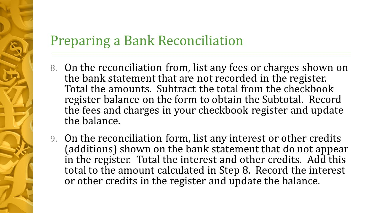 Chapter 5 – The Banking System Lesson 5-1: Checking Accounts - ppt ...