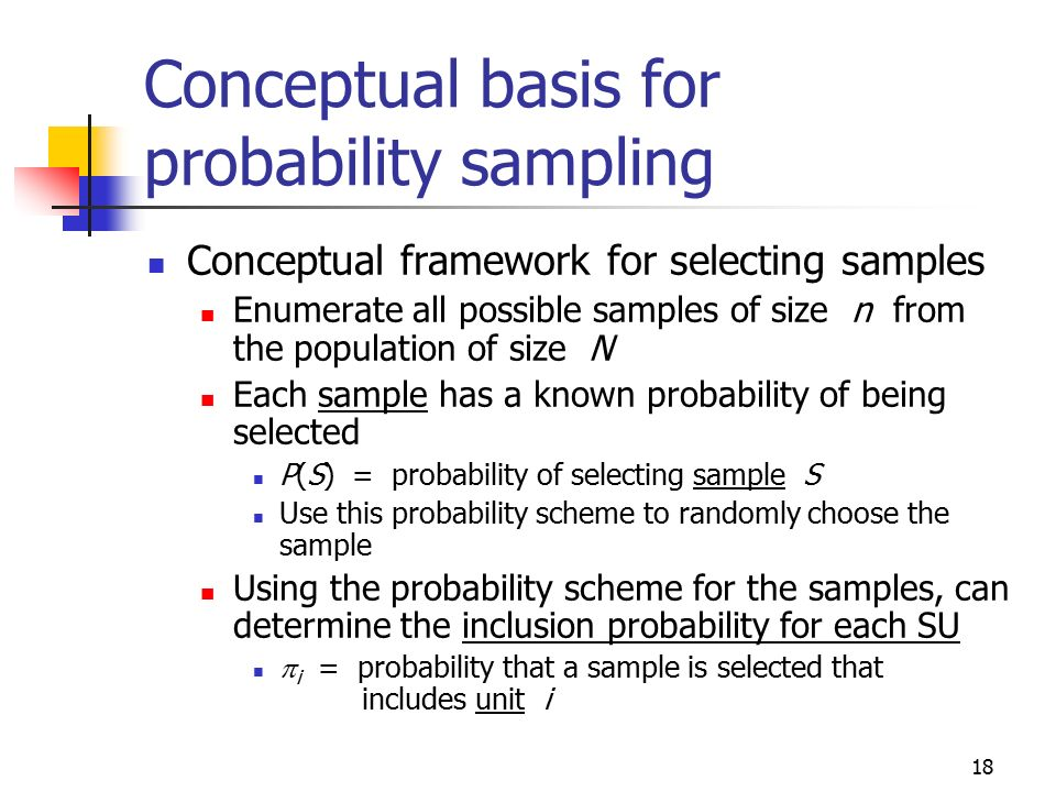 Ch 2: probability sampling, SRS - ppt download