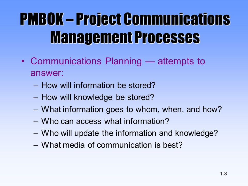 Project Communication, Tracking, and Reporting - ppt video ...