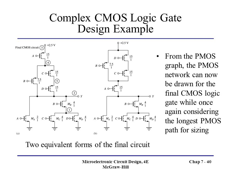 Chapter 7 Complementary MOS (CMOS) Logic Design - ppt video online ...