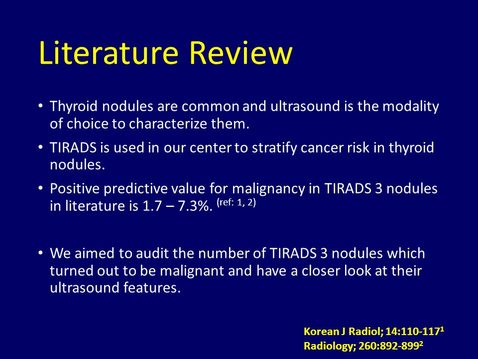 TIRADS III nodules on ultrasound of thyroid - ppt video ...