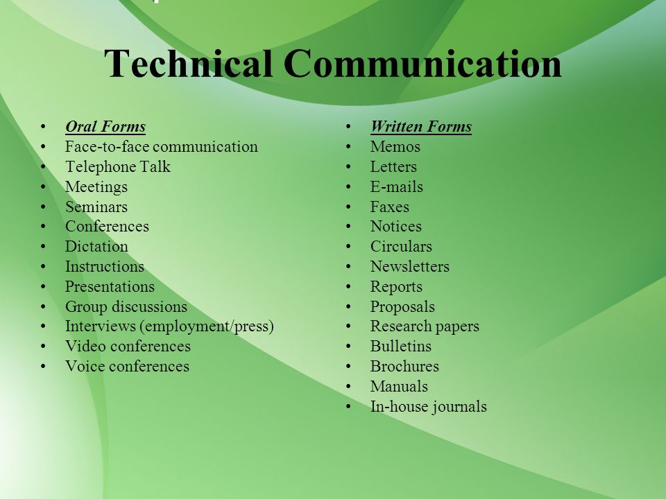 technical writing and communication journals