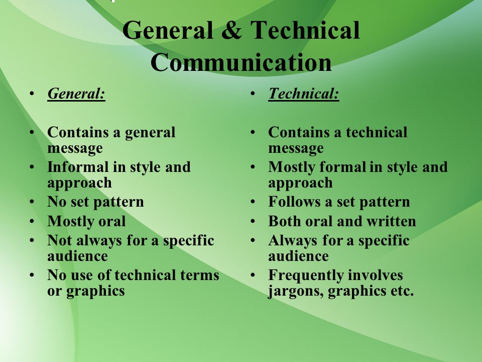 Communicate technical information to a specified audience essay