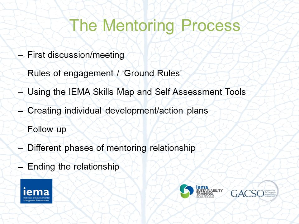 IEMA Mentoring Support and Guidance Webinar - ppt video online ...
