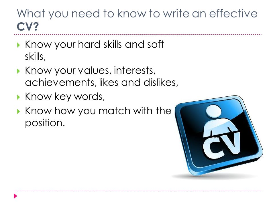 Mark Cope CV However  if Nathalie had wanted to use a skills based approach to writing  her CV  with a job in publishing in mind  it could have looked like this