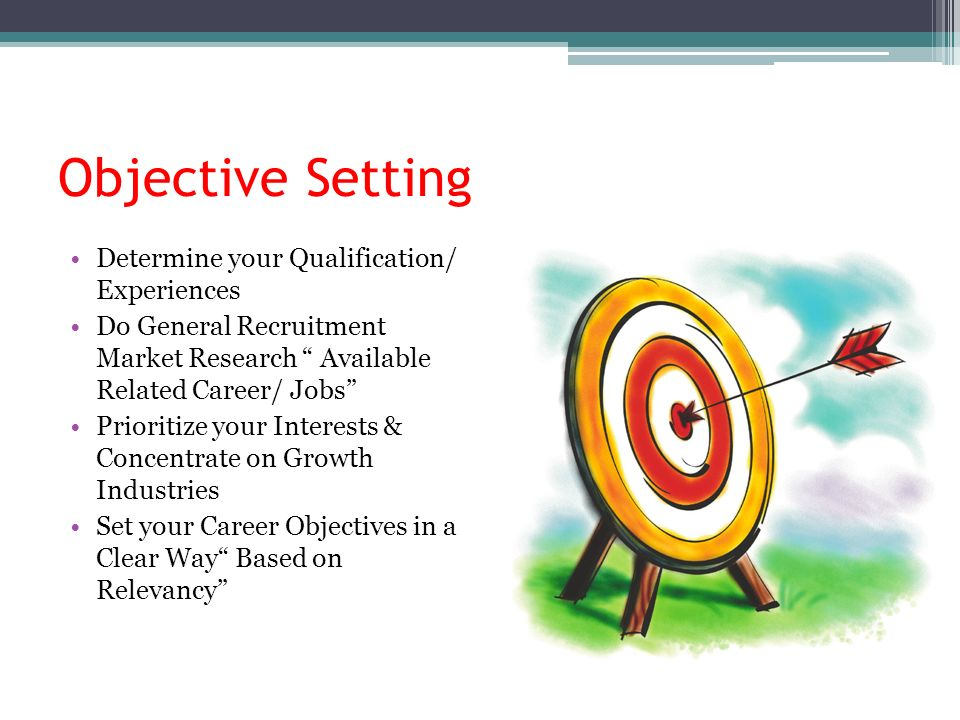 your career objective