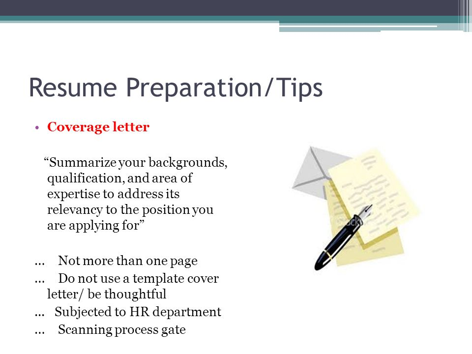 5 resume preparationtips