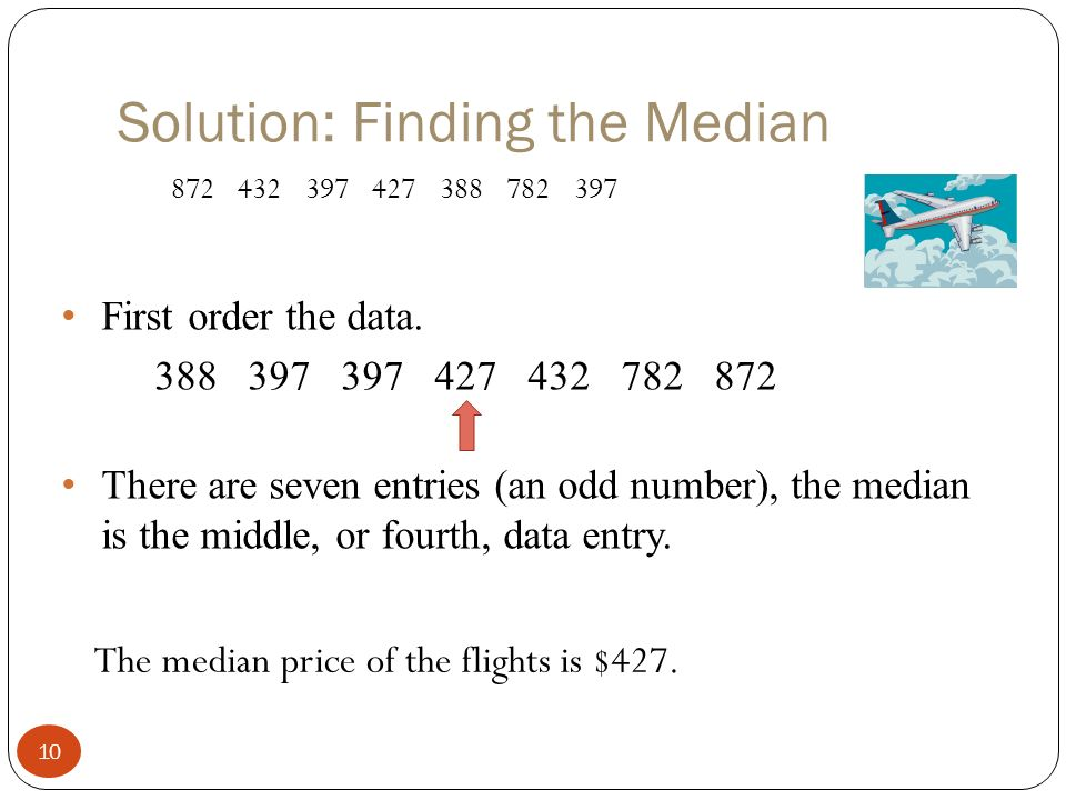 how to find the median when there are even numbers