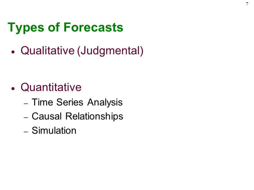 qualitative forecasting Qualitative forecasting techniques are generally more subjective than their quantitative counterparts qualitative techniques are more useful in the earlier.