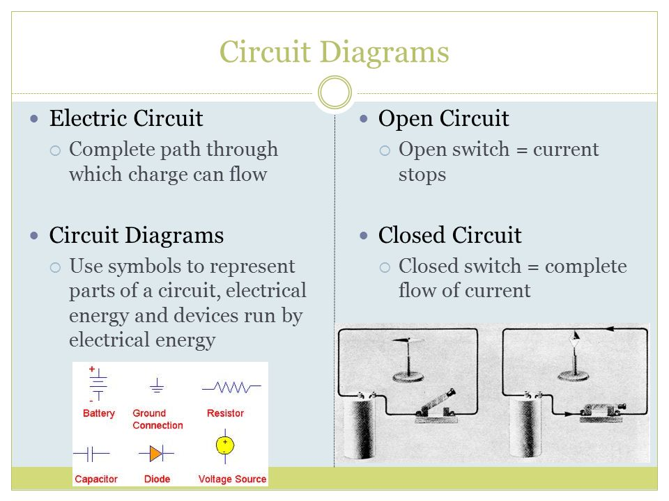 Open Electrical Circuit : Electric charge and static electricity ppt download