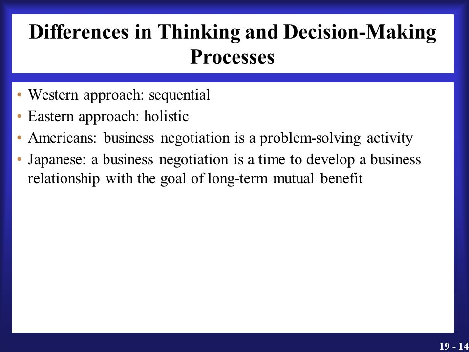 decision making negotiation Negotiation and decision making: a food service professional & personal view negotiation and decision making offers a powerful perspective, a specialized language and a set of tools that can be used to address the most stubborn problems in everyday life and work.