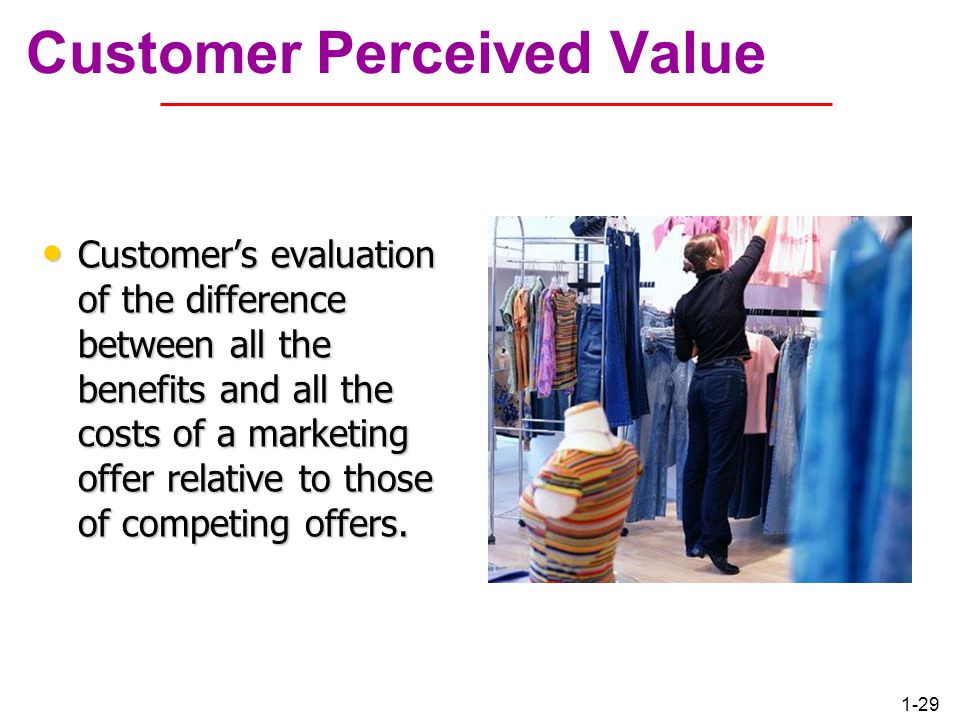 customer perceived value and relationship marketing orientation