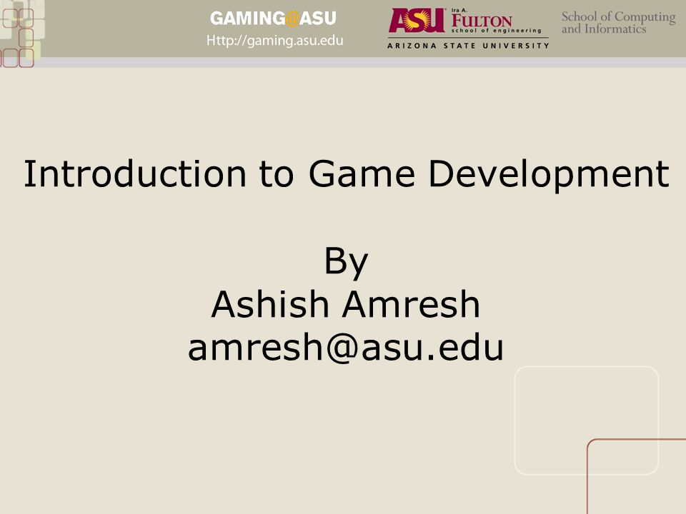 introduction to game development This multi-part walkthrough shows how to create a simple 2d application using monogame it covers common game programming concepts, such as graphics, input, game entities, and physics.