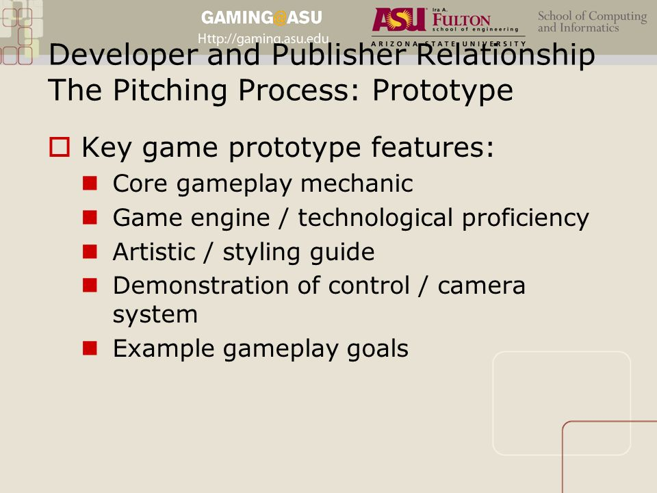 developer publisher relationship advice