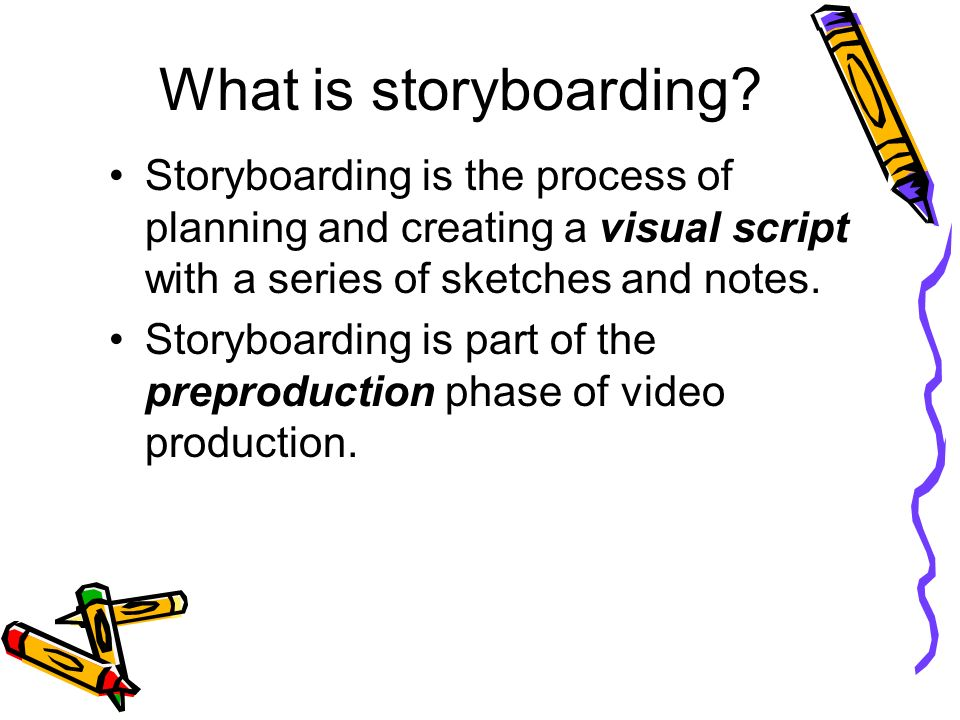 Storyboards! Answer Storyboard Ppt Questions During The Slideshow