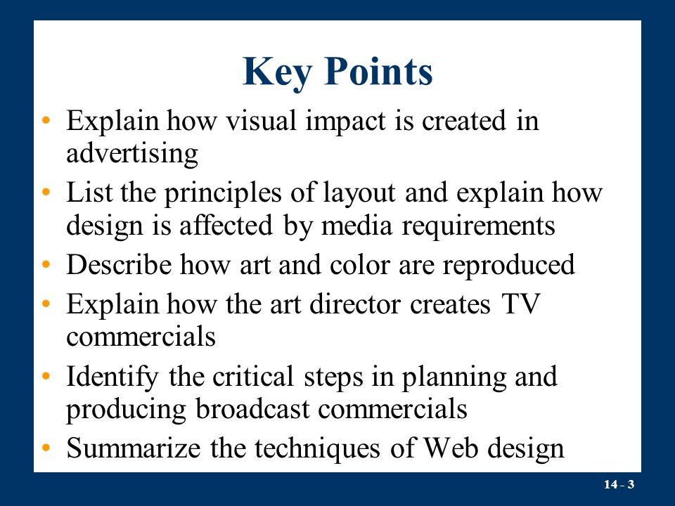 Explain The Principles Of Design : Part effective advertising messages chapter ppt download