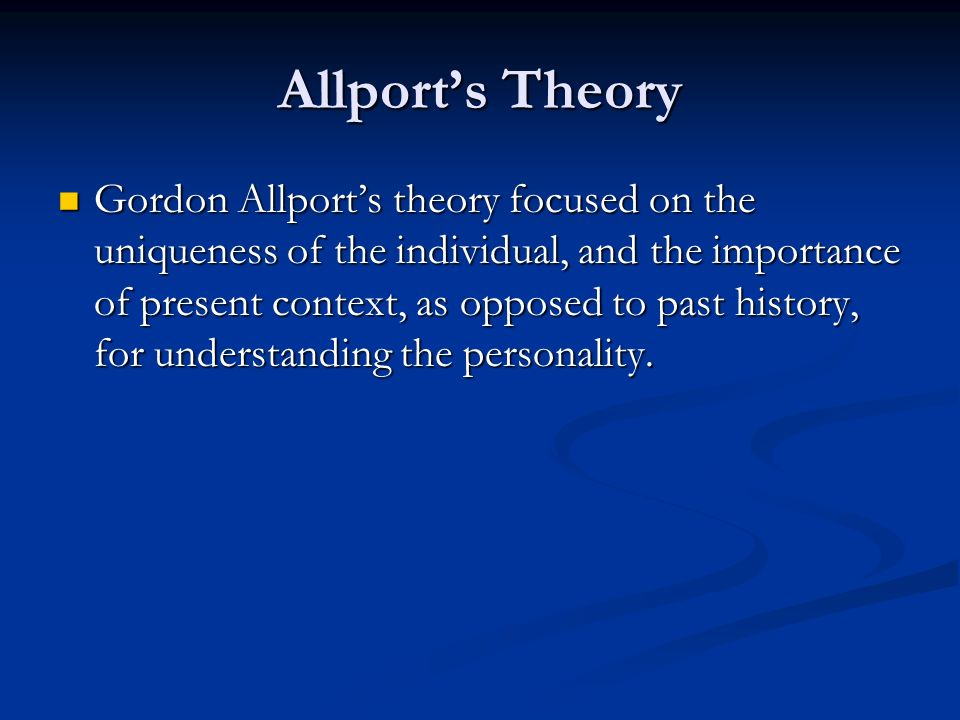 the importance of understanding theories and personality assessments Assessment is an integral part of instruction, as it determines whether or not the goals of education are being met assessment affects decisions about grades, placement, advancement, instructional needs, curriculum, and, in some cases, funding.
