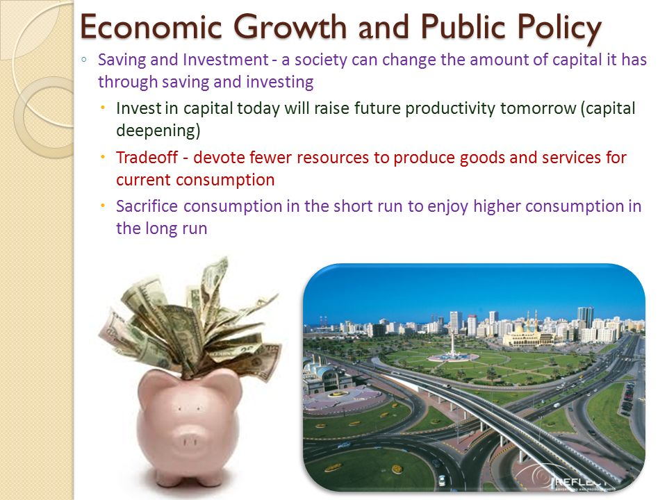 public policy and economic growth This paper looks at the empirical record whether big infrastructure and public capital drives have succeeded in accelerating economic growth in low-income countries.