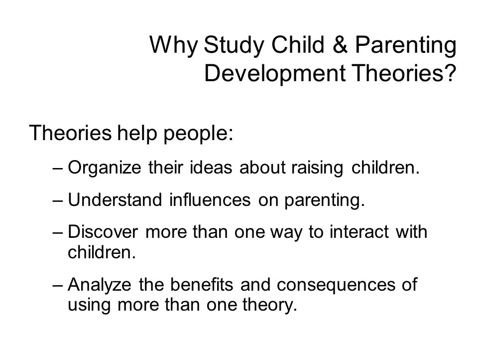 an analysis of the theories in children thinks The theory of moral development formulated by lawrence kohlberg states that   the reasons why these children think that the character is morally right or not.
