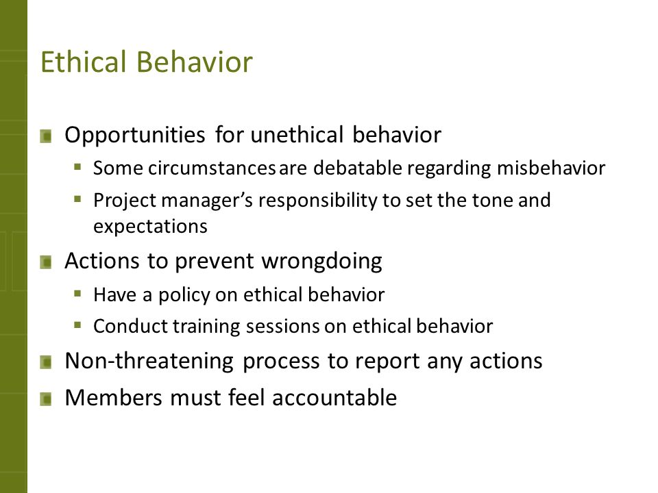 ethical or unethical