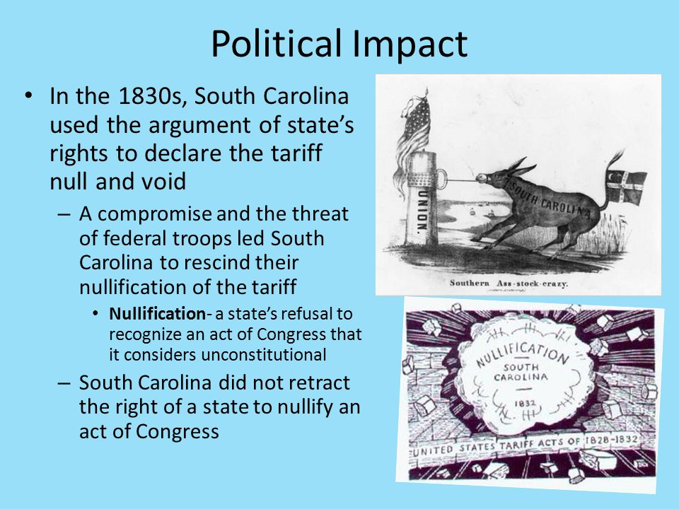 Effects of mercantilism in the political