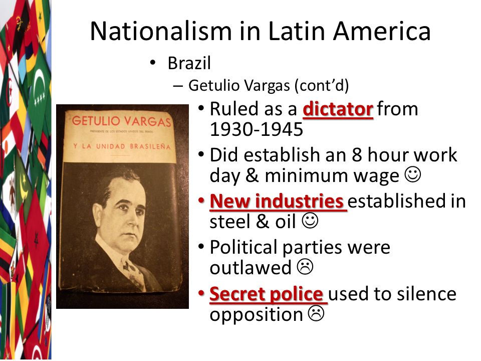nationalism in latin america essay Free essay: beginnings of nationalism beginning in the late 19th century, american capital and culture infiltrated mexico thomas o'brien's thesis in the.