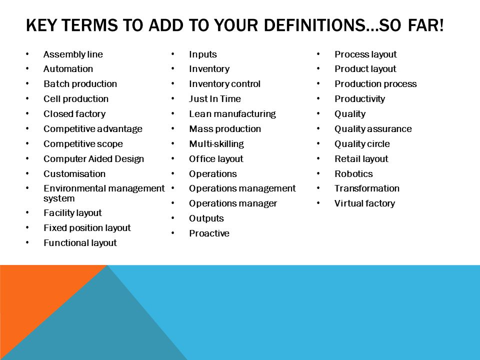 Operations Management Ppt Download