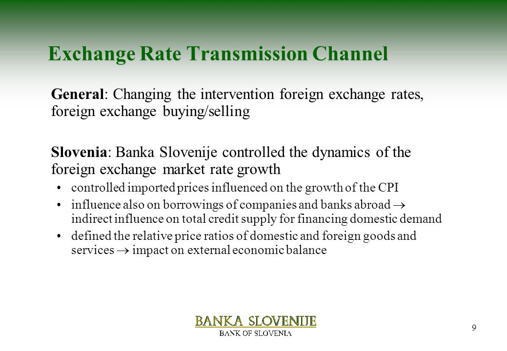transmission effects of exchange rate on Will minimize the effects of adverse exchange rate fluctuations on the financial position of the company additional benefits of a clearly stated policy include: • involving senior management in policy formulation to establish clear guidelines and avoid future misunderstandings.