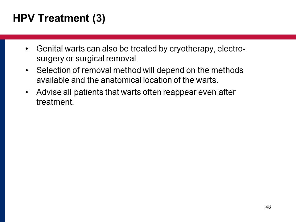 Vaginal hpv surgical treat was