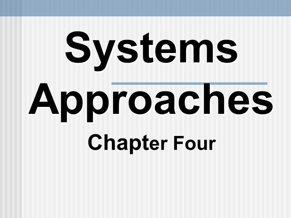 a systems approach to hrd Difference between hard and soft approaches hard systems approach soft systems methodology - social entities achieving goals -social entities managing relationships.