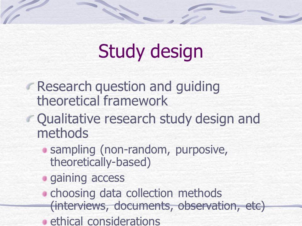 theoretical frameworks in qualitative research pdf