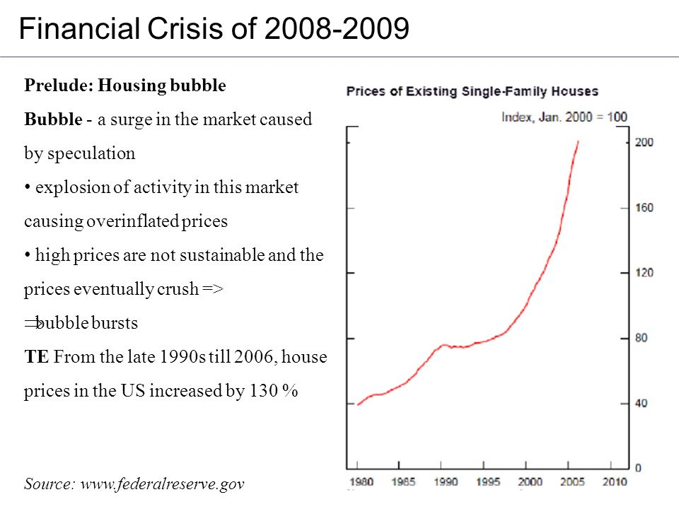 financial crisis 2008 I have wanted to write this article for some time, but decided to sit on it in order to consider the matter more closely what caused the financial crisis of 2008.
