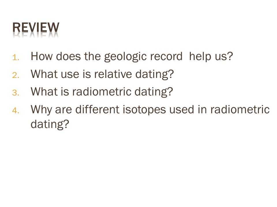 how does relative dating works Although relative dating can work well in certain areas radiocarbon dating is a universal dating technique that can be applied anywhere in the world.