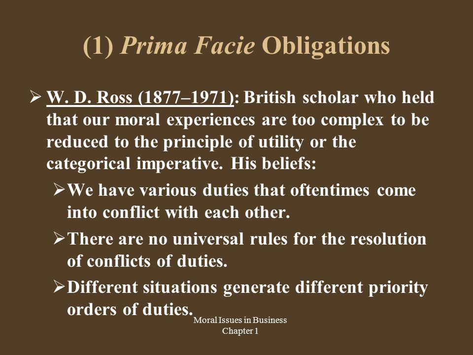 prima facie and rawls' justice thoery A theory of justice is a work of political philosophy and ethics by john rawls, in  which the author attempts to solve the problem of distributive justice by utilising.