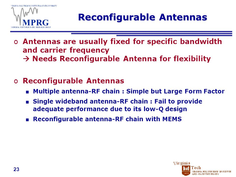 summary of reconfigurable antennas for wireless Summary this chapter contains sections titled: introduction the reconfigurable  antenna case studies in reconfigurable large aperture.